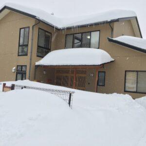 記録的大雪です